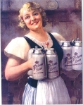 Old Hacker-Pschorr Beer Maid photo